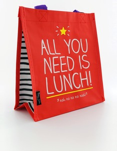 Happy Jackson Tote All You Need Is Lunch