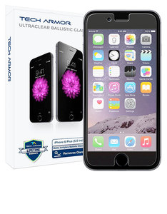 Tech Armor Ballistic Glass Screen Protector iPhone 6/6S Plus