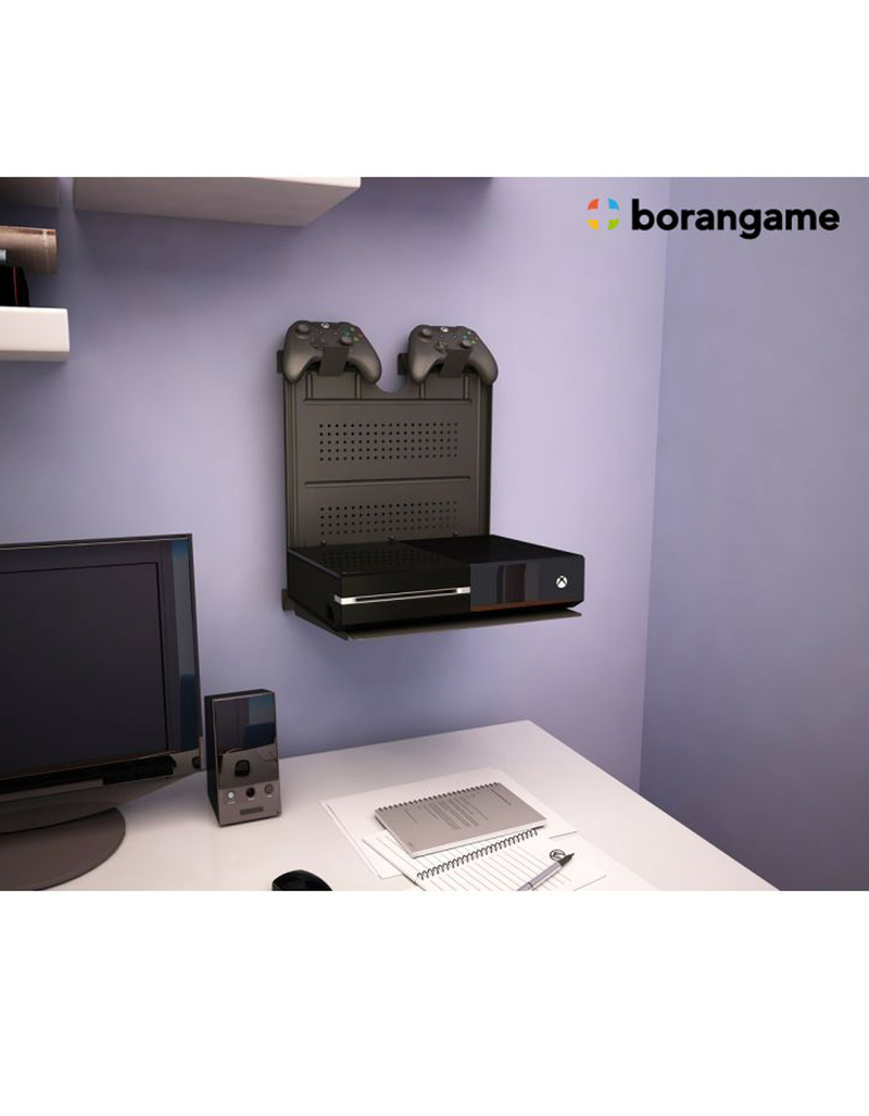 borangame gameside game console horizontal wall mount. Black Bedroom Furniture Sets. Home Design Ideas
