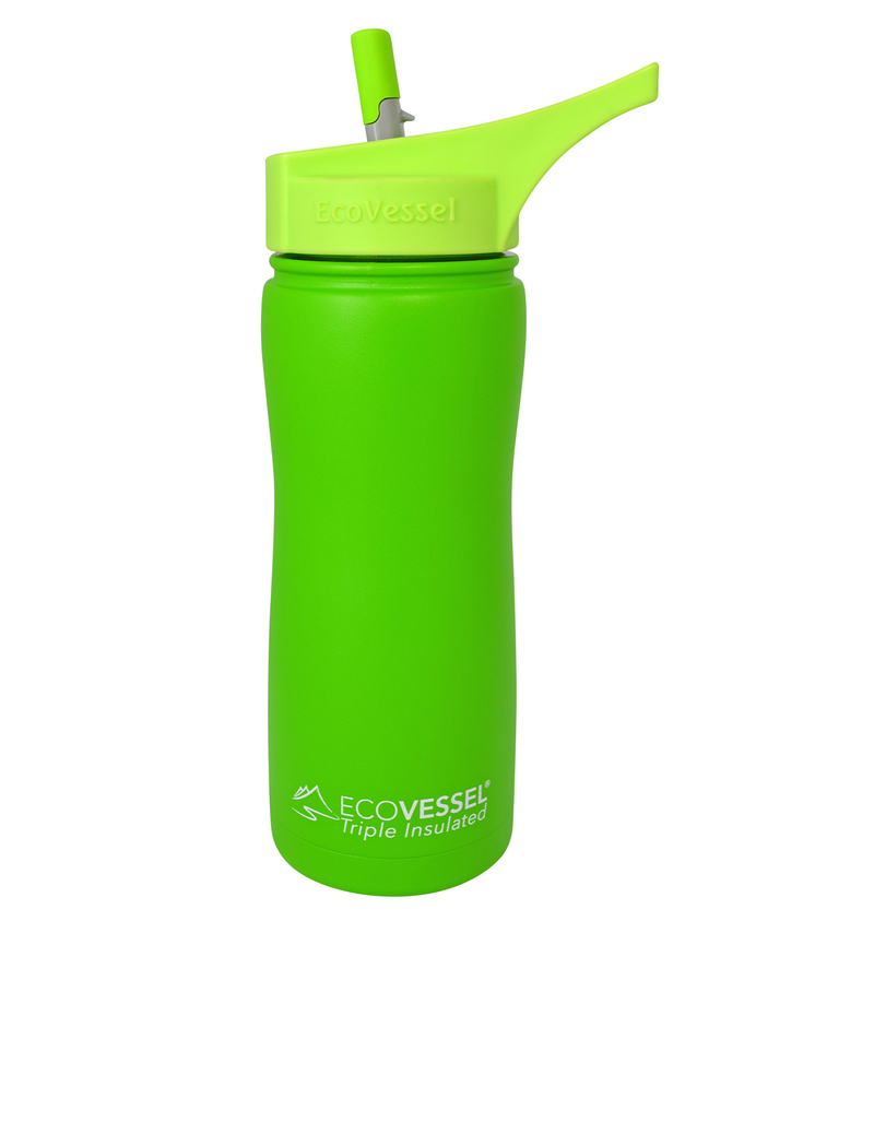 Eco Vessel Summit Mile High Green Water Bottle 17oz 500ml
