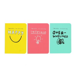 Happy News Mini Journals [Set of 3]