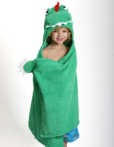 Zoocchini Devin The Dinosaur Bath Towel