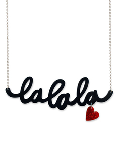 Little Moose Chit Chat LaLaLa Necklace