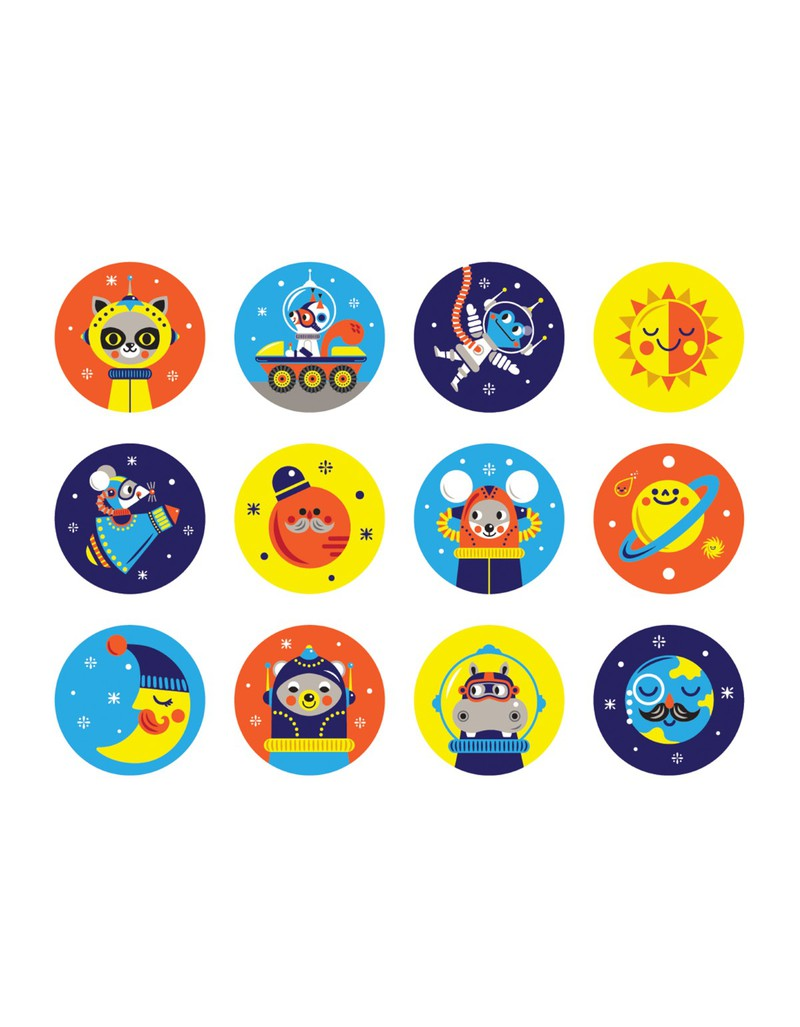 mudpuppy outer space mini memory match game family games games