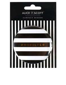 Alice Scott Nofilter Compact Black Mirror