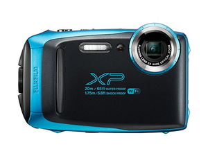 Fujifilm FinePix XP130 Tough Camera Sky Blue