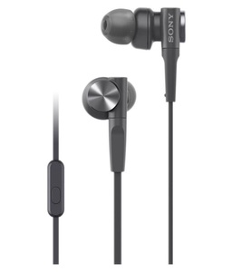 Sony XB55 Extra Bass Black In-Ear Earphones