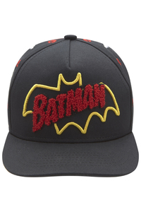 Fabric Flavours Batman Retro Logo Black Kids Cap