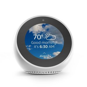 Amazon Echo Spot Smart Speaker White
