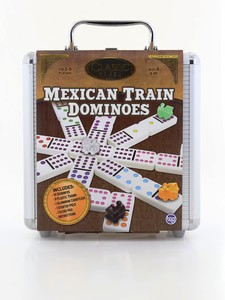 TCG Mexican Dominoes Tin Train