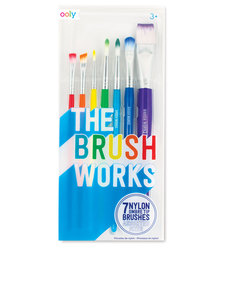 OOLY The Brush Works [Set of 7]