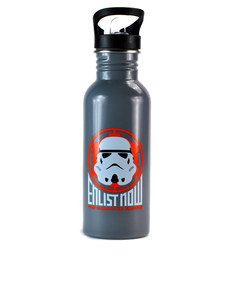 Star Wars Stormtrooper Badge Icon Water Bottle 600ml