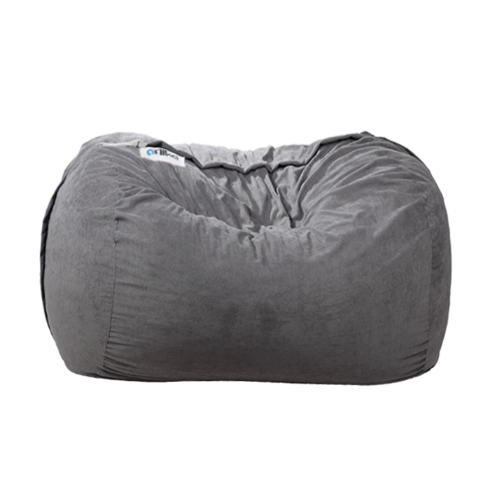 Phenomenal Ariika Big Sac Grey Sabia Bean Bag Furniture House Virgin Megastore Pdpeps Interior Chair Design Pdpepsorg