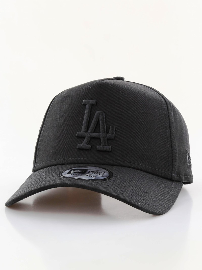 New Era League Essential LA Dodgers AF Cap Black Black  8e65b1126ba1