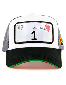 Raqam New Abu-Dhabi Collection Plate No.1 Model 2 Cap