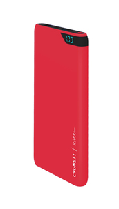 Cygnett ChargeUp Boost 10000mAh Red Power Bank