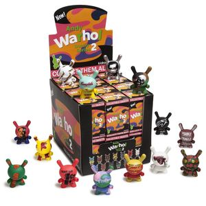 Kidrobot Andy Warhol Dunny Mini Series 2.0 3 Inch Blind Box [Includes 1]