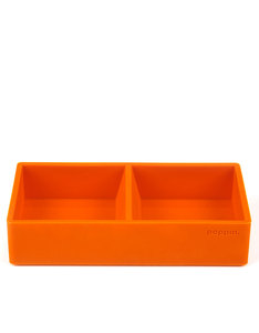 Poppin Inc Softie This & That Tray Orange