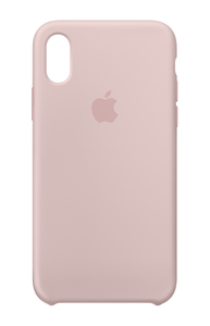 Apple Silicone Case Pink Sand for iPhone X