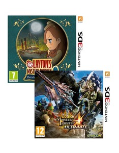 Laytons Mystery Journey Katriele + Monster Hunter 4 Ultimate [Bundle]