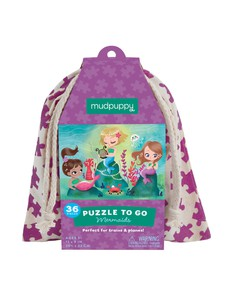 Mudpuppy Mermaids Puzzle To Go