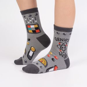 Sock It To Me Junior Crew Genius At Work Socks