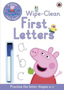 Peppa Pig Practise With Peppa Wipe-Clean Writing Pb