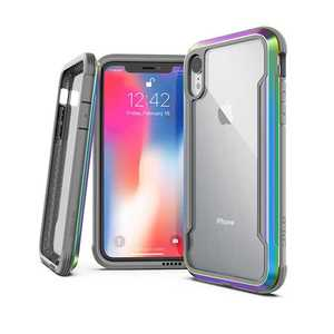 X-Doria Defense Shield Case Iridescent for iPhone XR