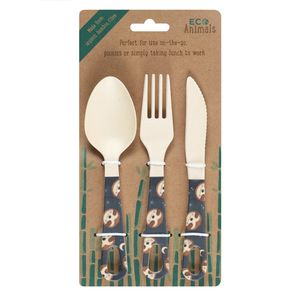Something Different Sidney Sloth Cutlery Set
