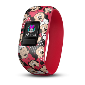Garmin Vivofit Jr. Activity Tracker Stretchy Disney Minnie Mouse