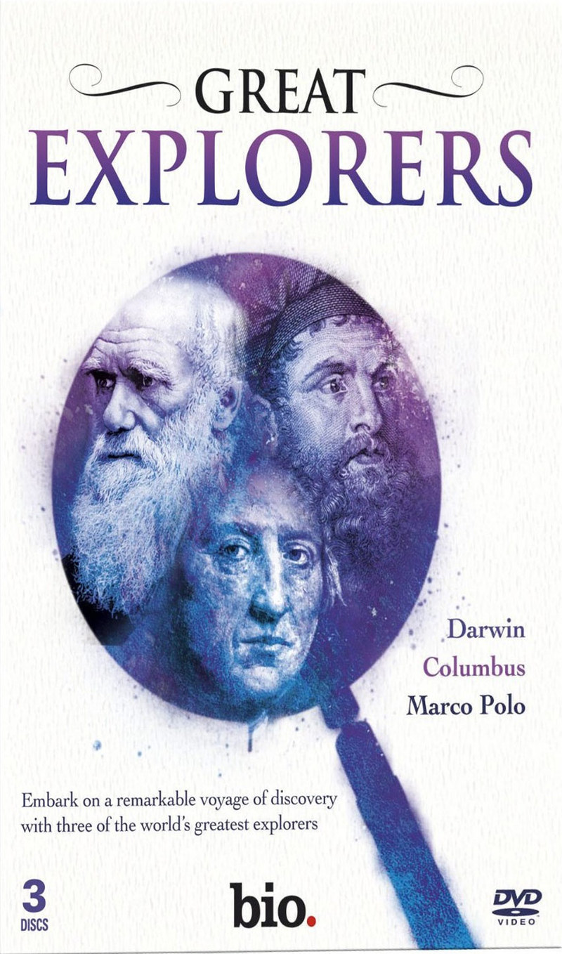 Great Explorers: Darwin/Colombus/Marco Polo [3 Disc Set]