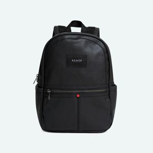 State Bags Mini Kane Black Polyester Canvass  Backpack