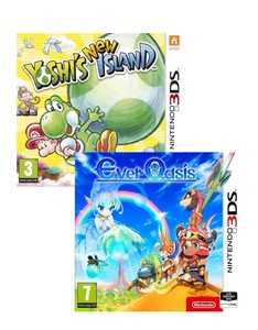 Yoshi's New Island + Ever Oasis [Bundle]