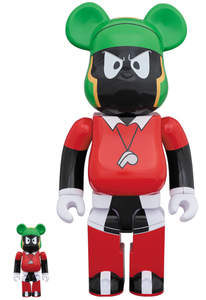 Bearbrick Looney Tunes Marvin the Martian 400 & 100 Percent Figures [Set of 2]