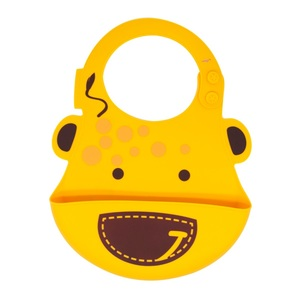 Marcus & Marcus Lola The Giraffe Yellow Baby Bib