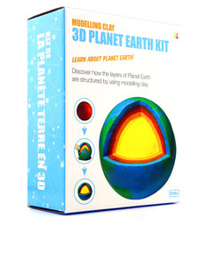 Keycraft 3D Planet Earth Modelling Clay Kit