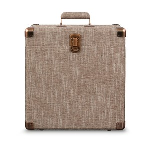 Crosley Platter-Pak Havana Record Carrier Case