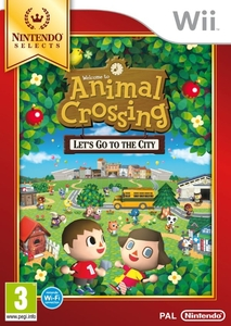 Animal Crossing Lets Go To The City Select Wii