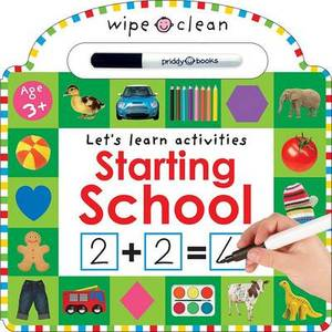 Wipe Clean Learning Starting School
