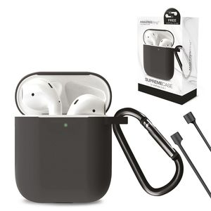 Amazing Thing SupremeCase Flow with Carabiner for AirPods Black