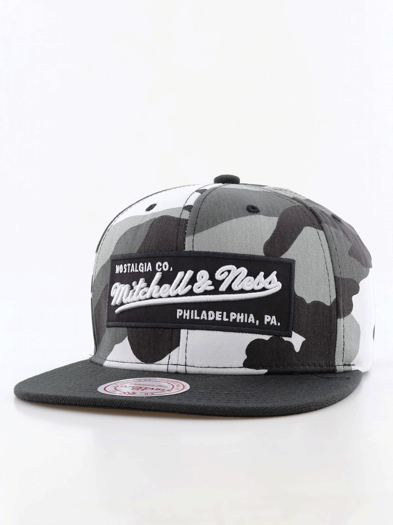 new style e1fe1 f97aa Mitchell   Ness M N Box Logo Snapback Men s Cap Urban Camo   Caps   Headwear    Men   Fashion   Virgin Megastore