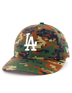New Era Diamond Era Lp LA Dodgers Woodland Camo Cap
