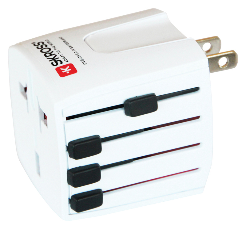 Skross Universal Input And Output World Adapter