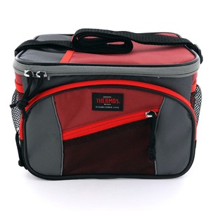Thermos 6 Can Cooler Bag Maroon/Red