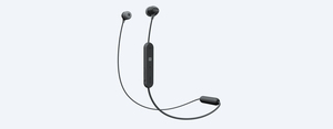Sony WI-C300 Black Wireless In-Ear Earphones