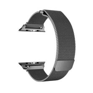 Porodo 44mm/42mm Metal Band Black for Apple Watch