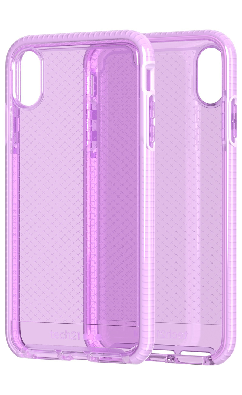 reputable site e7862 07374 Tech21 Evo Check Case Orchid for iPhone XS Max