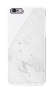 Native Union Clic Marble Case White Iphone 6
