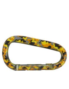 UST Brands Snappy Carabiner Yellow Camo