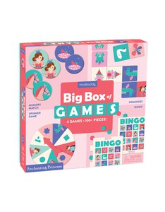 Mudpuppy Enchanting Princess Big Box Of Games